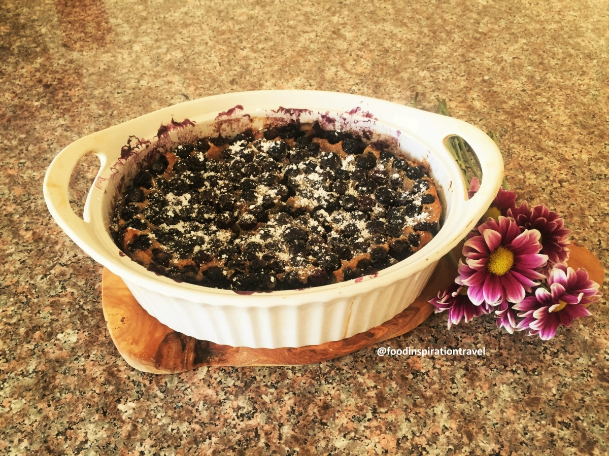 Recipe: Blueberry Clafoutis