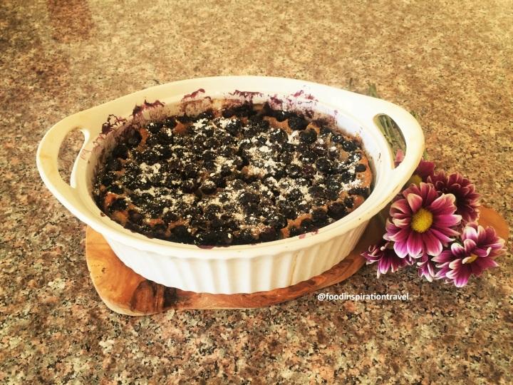 Recipe: Blueberry Clafoutis