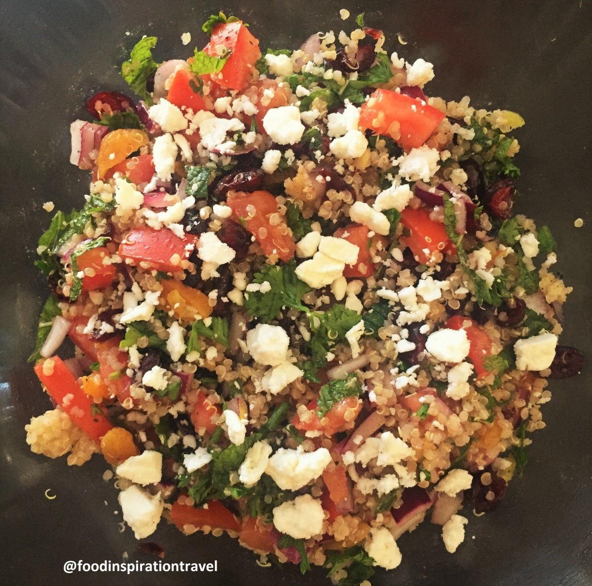 Recipe: Quinoa Tabbouleh with Dried Fruit & Feta